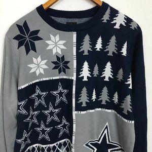 NFL Dallas Cowboys Men XL Multi-Color Sweater NWT